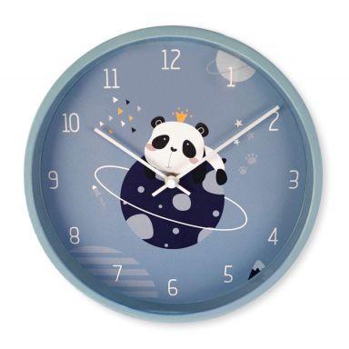Kinder Wanduhr Panda - Rund Ø30 cm