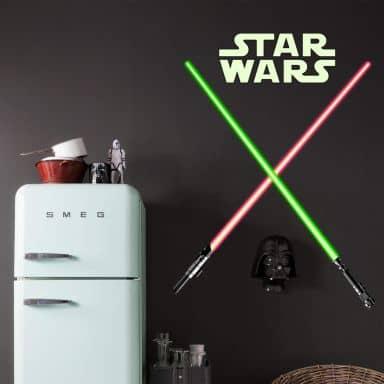 Citaten Uit Star Wars : Muurstickers star wars wall art