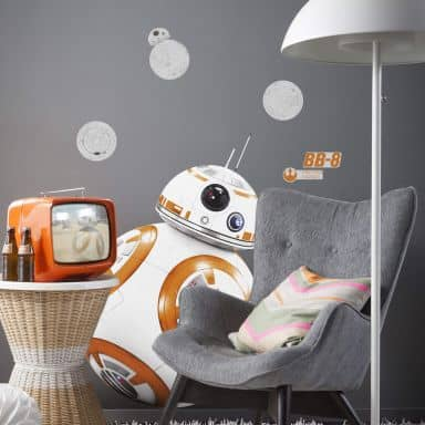 Muursticker Star Wars BB-8