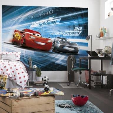 Fototapete Disney Cars 3 Simulation