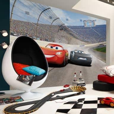 Fototapete Disney Cars 3 Duell