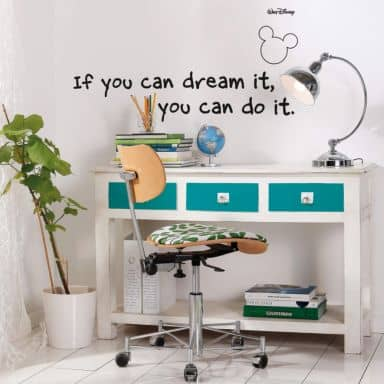 You can do it! Wall sticker