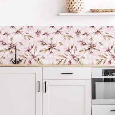 Küchenrückwand UN Designs - Soft Magnolia