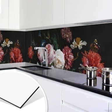 Rivestimento cucina de Heem - Natura morta con fiori