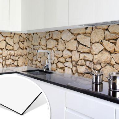 Küchenrückwand - Alu-Dibond - Mauer 01