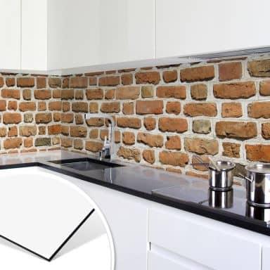 Küchenrückwand - Alu-Dibond - Mauer 02