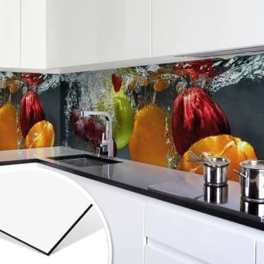 Kuchenruckwand Aus Alu Als Spritzschutz Wall Art De