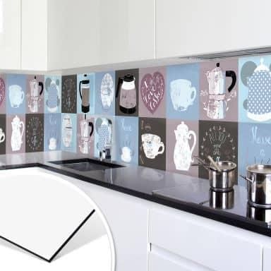 Küchenrückwand - Alu-Dibond - Loske - Coffee Tim