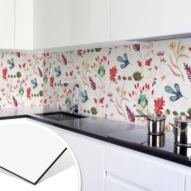 Küchenrückwand - Alu Dibond - Zauberwald