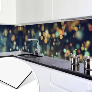 Küchenrückwand - Lichteffekt 02