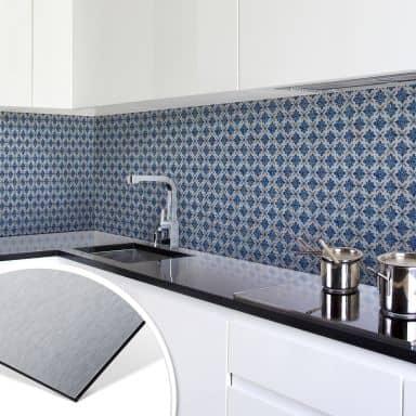 Küchenrückwand - Alu-Dibond-Silber - Holland Kac