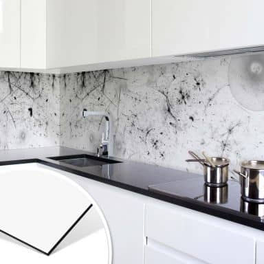 Küchenrückwand - Splattern Art