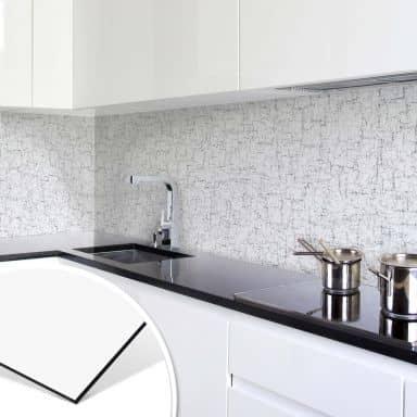 Küchenrückwand - Steinstrukturen