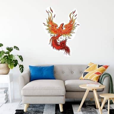 Muursticker LA Ink - Phoenix