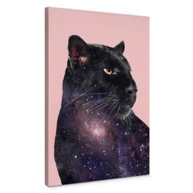 Leinwandbild Loose – Galaxy Panther