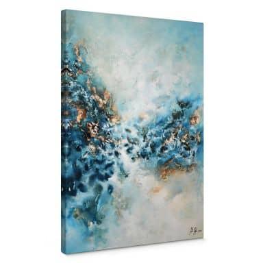 Leinwandbild Fedrau - Blaues Wunder