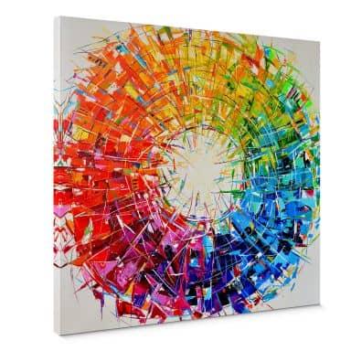 Canvas Fedrau - Color Chaos