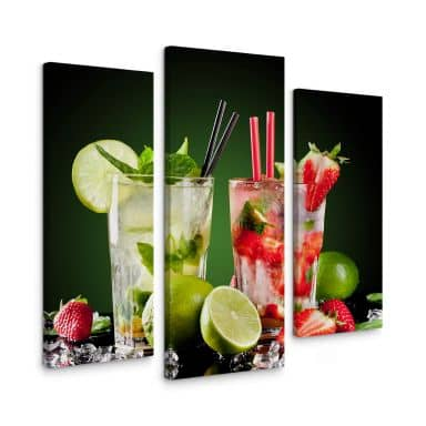Canvas Cocktail Hour (3-delig)
