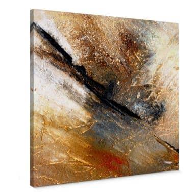 Leinwandbild Niksic - Jeder Stein hat seine Geschichte