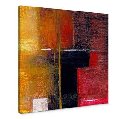 Leinwandbild Niksic - Moderne Kunst