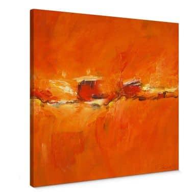 Leinwandbild Schüßler - Composition in Orange