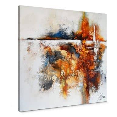Fedrau - My thoughts Canvas print