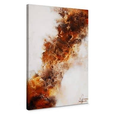 Canvas Fedrau - Vloeiend Goud