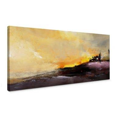 Niksic - Good Morning Canvas print panorama