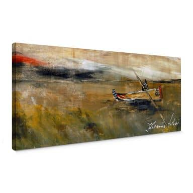 Niksic - longing for rain Canvas print