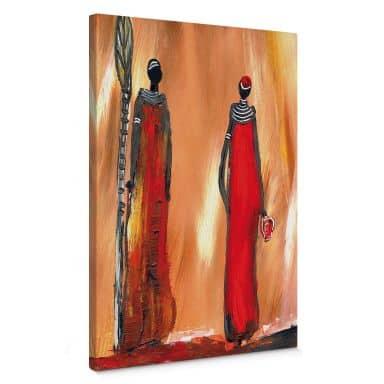 Leinwandbild Niksic - Art of Africa