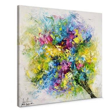 Leinwandbild Fedrau - Lass Blumen sprechen 02