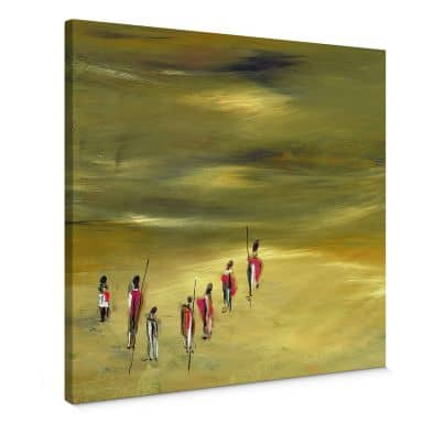 Leinwandbild Niksic - Die Wanderer