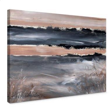 Leinwandbild Niksic - Am Meer