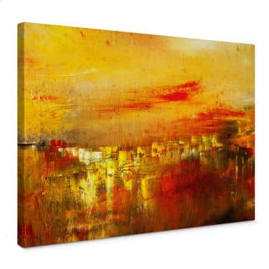 Canvas Print Niksic – Quiet City