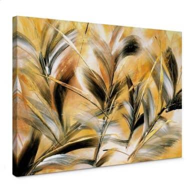 Leinwandbild Niksic - Gräser