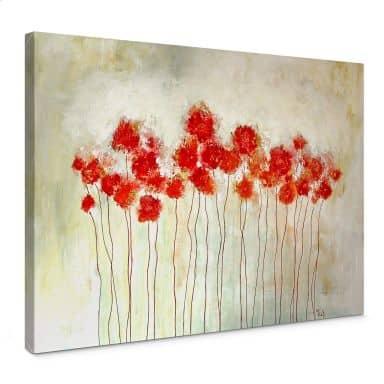 Canvas Print Melz - Flowers