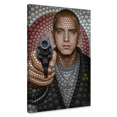 Canvas Ben Heine - Circlism: Eminem