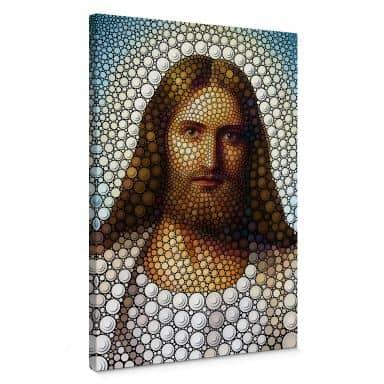 Canvas Ben Heine - Circlism - Jesus Christ
