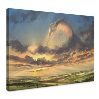 Canvas Print Aerroscape - Clouds