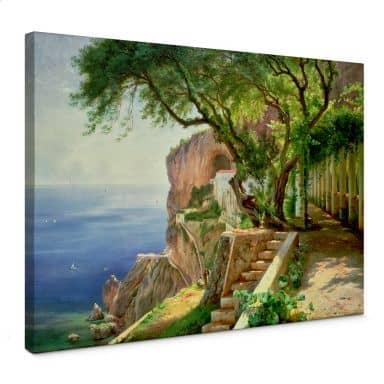 Leinwandbild Aargaard - Amalfi