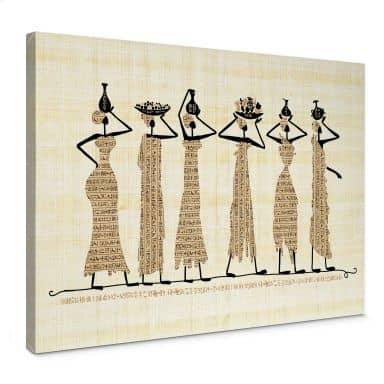 Leinwandbild Ägyptische Frauen