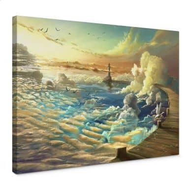 Leinwandbild aerroscape - Am Ufer des Himmels