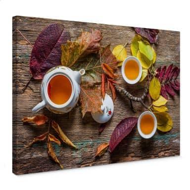 Leinwandbild Aristov - Tea of September