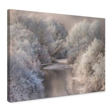 Canvas Print Bela - Winter Landscape