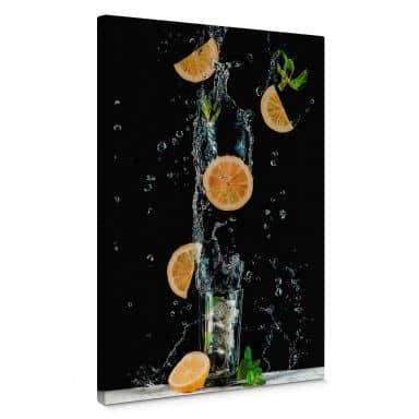 Canvas Belenko - Splashing Lemonade