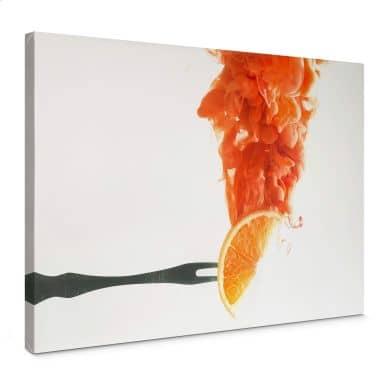 Leinwandbild Belenko - Steamed Orange