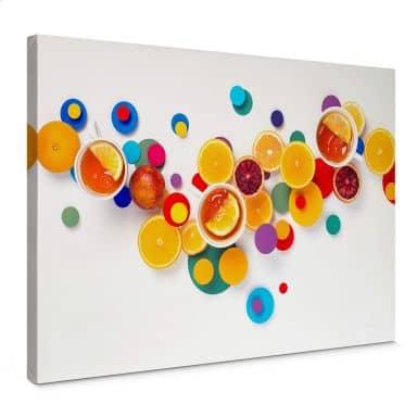 Canvas Print Belenko – Suprematic Tea Time