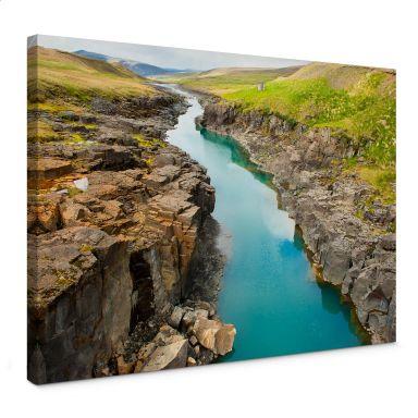 Mountain Ravine Canvas print
