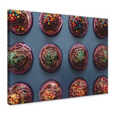 Birthday Muffins Canvas print