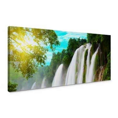 Blue Lagoon- Panorama Canvas print